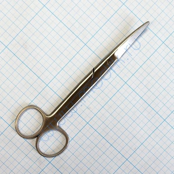 Ножницы хирургические изогнутые 150 мм J-22-105    Вид 1