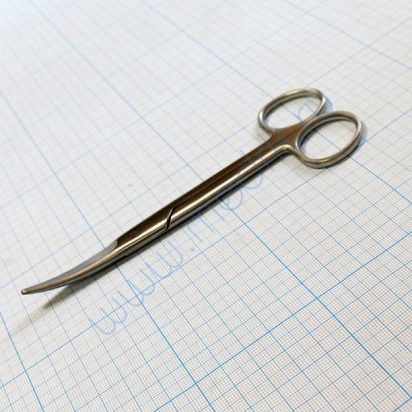 Ножницы хирургические изогнутые 150 мм J-22-105    Вид 3