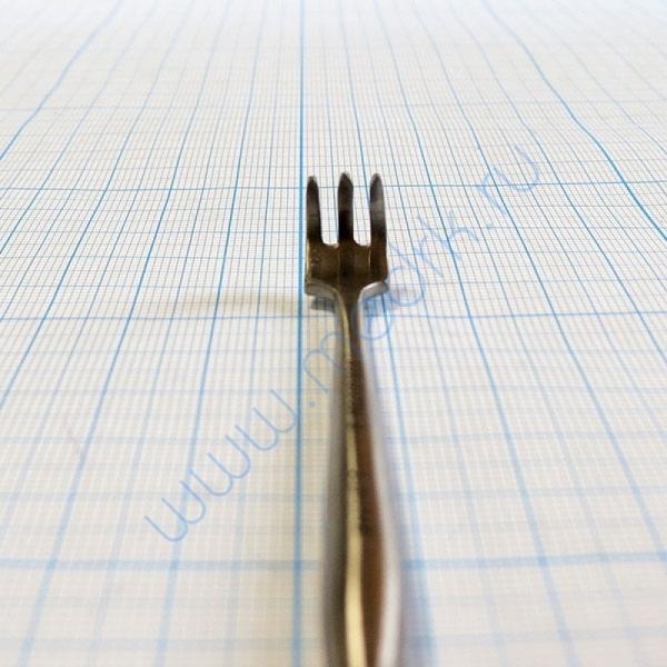 Крючок хирургический трехзубый острый №1 J-19-144B  Вид 7