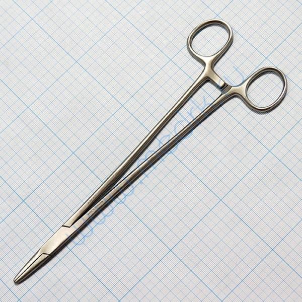 Иглодержатель общехирургический 250мм J-24-021