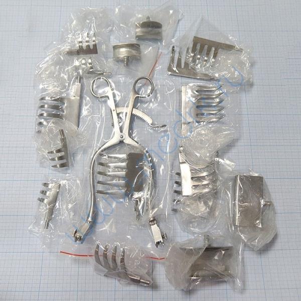 Ранорасширитель нейрохирургический универсальный Егорова-Фрейдина J-19-409  Вид 1