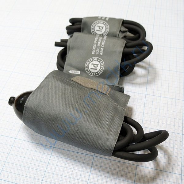 Тонометр LD-80 механический педиатрический с 3-мя детскими манжетами  Вид 4