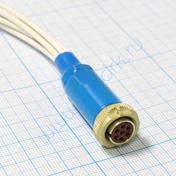 Кабель для подключения на 3 отведения 7 проводов для ЭКГ Кардио Астел  Вид 3