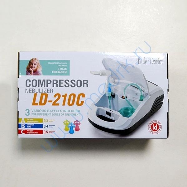 Ингалятор-небулайзер компрессорный LD-210C    Вид 1