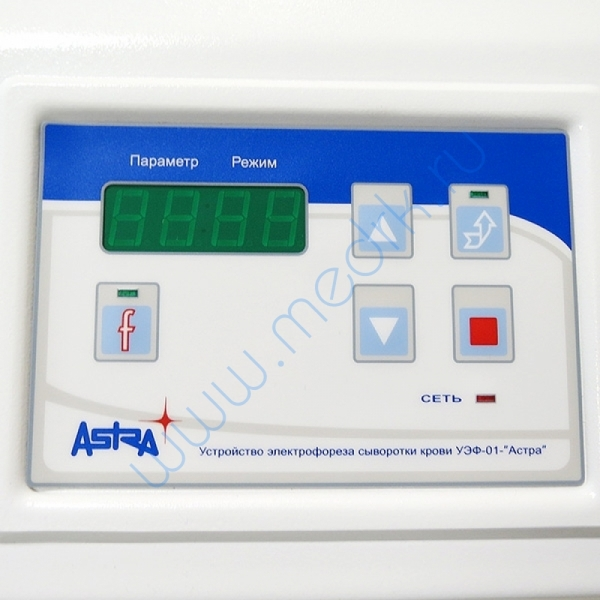 Устройство электрофореза сыворотки крови УЭФ-01-Астра  Вид 6