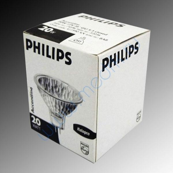 Лампа Philips 14599 Accentline 12V 50W 36 град. GU5.3  Вид 1