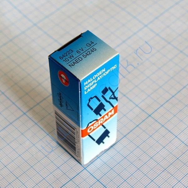 Лампа галогенная Osram 64223 6V 10W M/43 G4  Вид 3