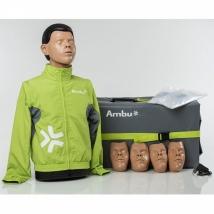 Манекен-тренажёр (фантом) дыхания и наружного массажа сердца Ambu ® Man Wi-Fi