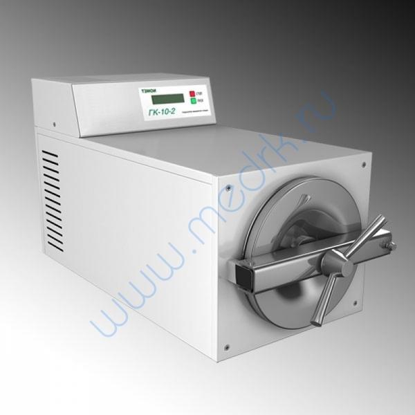 Стерилизатор паровой ГК-10-2 настольный  Вид 1