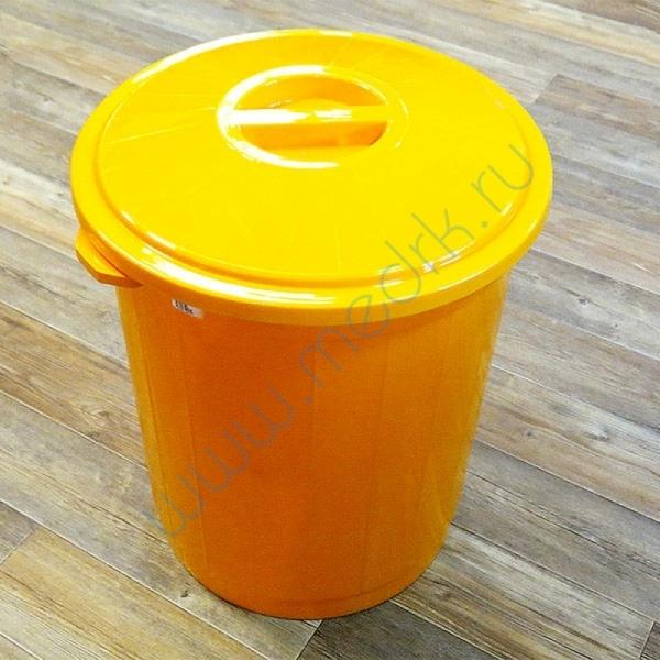Бак для сбора и утилизации медицинских отходов 65 л  Вид 1