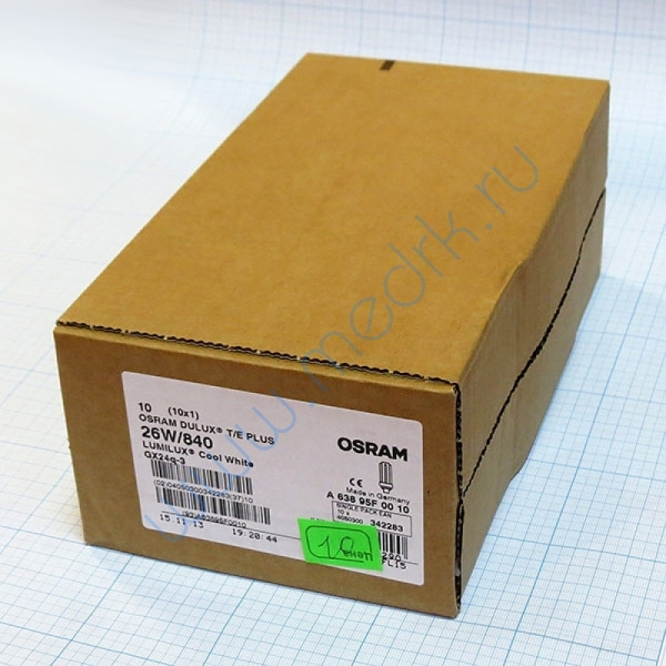 Лампа Osram Dulux T/E 26W/21-840 PLUS GX24q-3