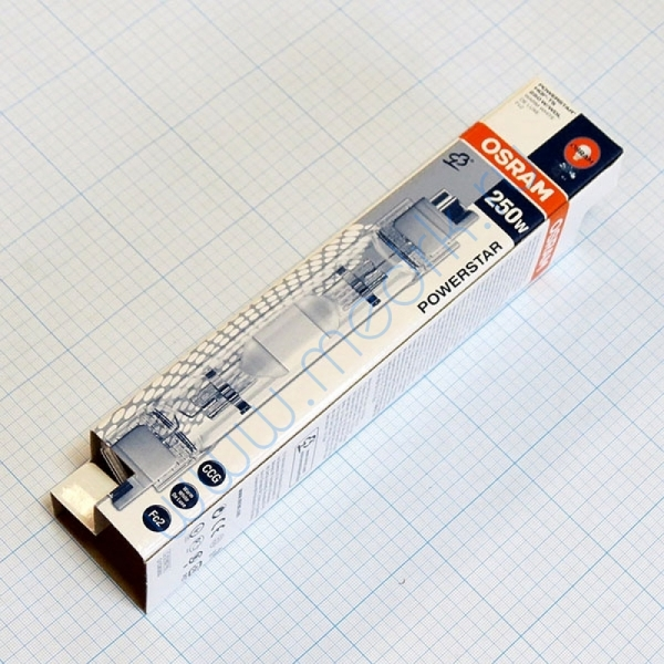 Лампа металлогалогенная Osram HQI TS 250W/ WDL UVS Fc2  Вид 2