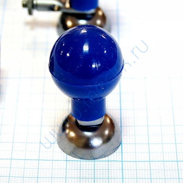 Электрод грудной (взрослый) с винтом и зажимом, КНР  Вид 4
