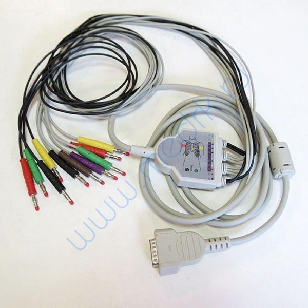 Кабель для ЭКГ MAC 400, 500, 800, 1100, 1200, КНР  Вид 1