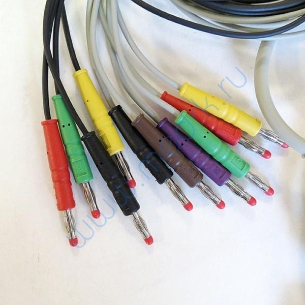 Кабель для ЭКГ MAC 400, 500, 800, 1100, 1200, КНР  Вид 3