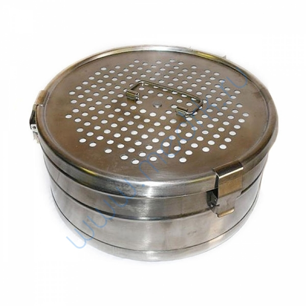 Коробка стерилизационная D-12 с фильтрами