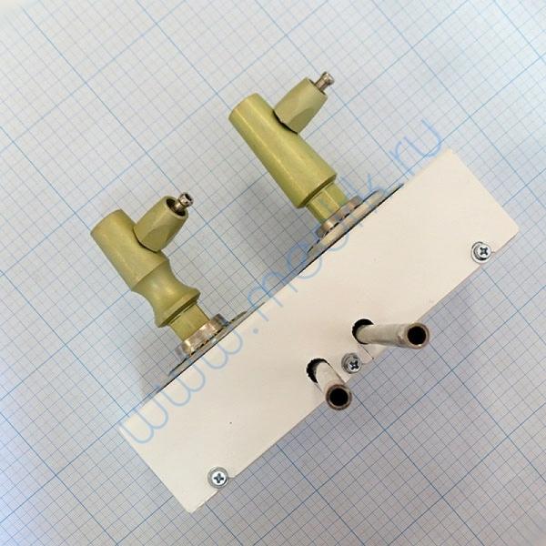 Система клапаная быстроразъемная СКБ-1 на 2 газа (кислород, углекислота)  Вид 8