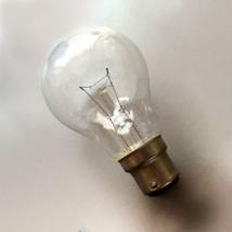 Лампа Ж 80-60 В22d