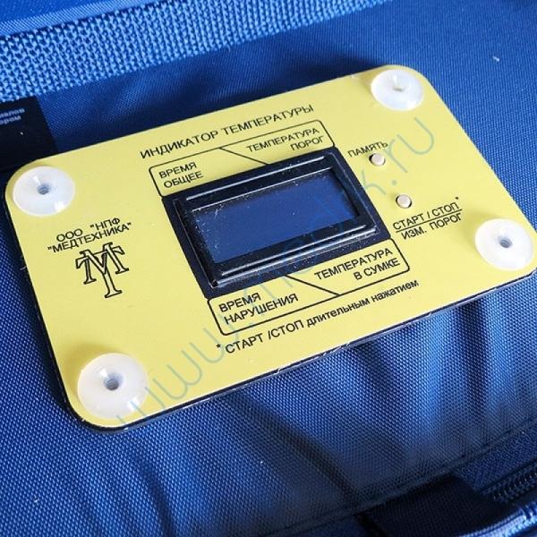 Сумка-холодильник медицинская с электронным индикатором, 4 л  Вид 2