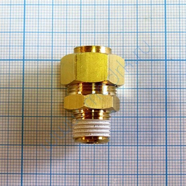 Соединение прямое резьбовое 12R 1/4 KFH 06B-02S  Вид 1