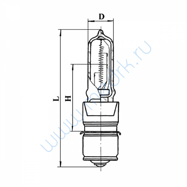 Лампа КГМ 24-200-1 (P28s/24)