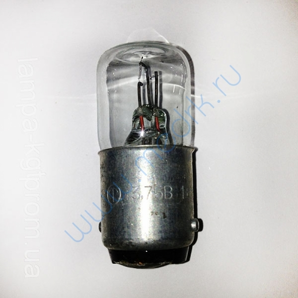 Лампа Р 3,75-1+0,5  Вид 1