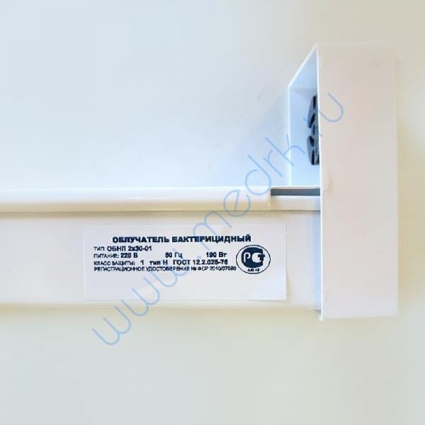 Облучатель бактерицидный ОБНП 2х30-01   Вид 8