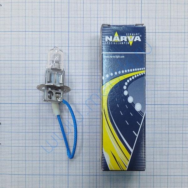 Лампа Narva 48700 24V 70W (H3) PК22S  Вид 1