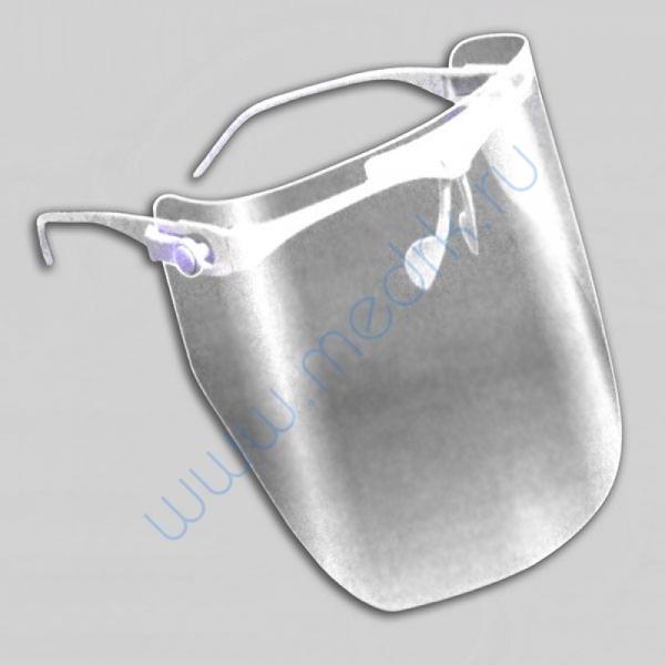 Маска пластмассовая прозрачная для защиты лица МС-ЕЛАТ