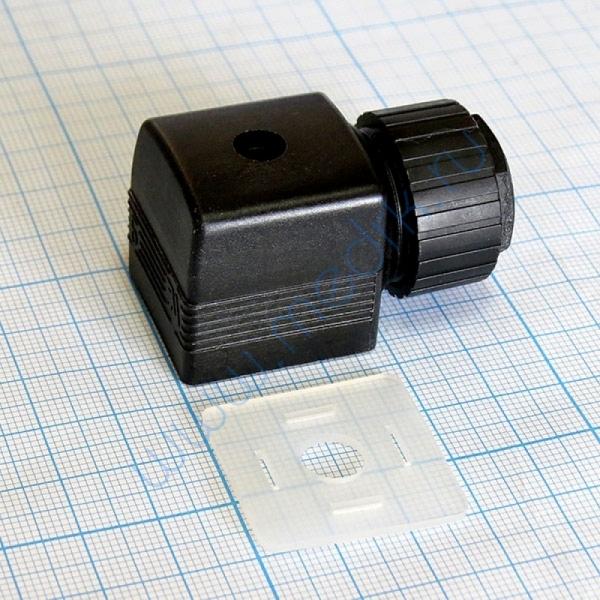 Разъем кабельный (разъем стандартный) для кабеля 6-7 мм  Вид 2