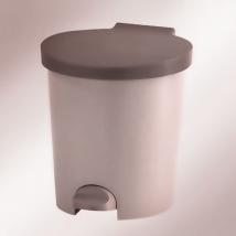 Ведро для мусора 10 л пластмассовое с педалью