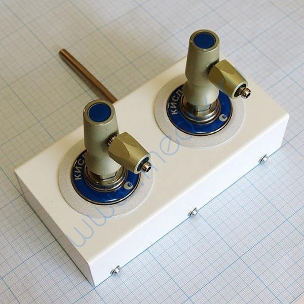 Система клапанная быстроразъемная СКБ-1 на 2 газа (кислород+кислород)  Вид 1
