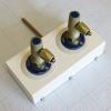 Система клапанная быстроразъемная СКБ-1 на 2 газа (кислород+кислород)
