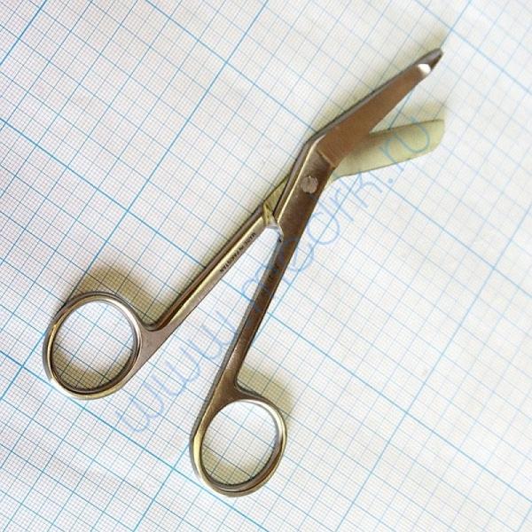 Ножницы для разрезания повязок с пуговкой по Листеру JO-21-120  Вид 2