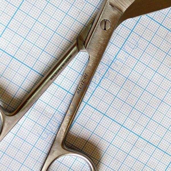 Ножницы для разрезания повязок с пуговкой по Листеру JO-21-120  Вид 3