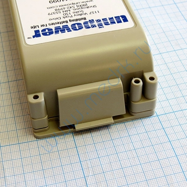 Батарея аккумуляторная UNIPOWER P/N 11099 для дефибриллятора Zoll M-series  Вид 3