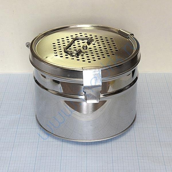 Коробка стерилизационная КСКФ-6 с фильтрами  Вид 1