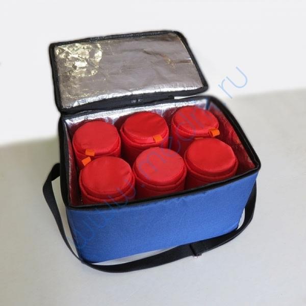 Сумка-термос 01-8 для инфузионных растворов (6 флаконов)  Вид 1