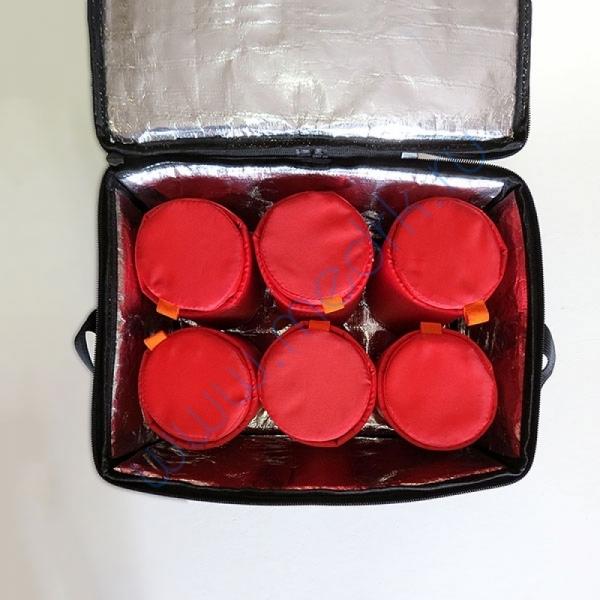 Сумка-термос 01-8 для инфузионных растворов (6 флаконов)  Вид 2