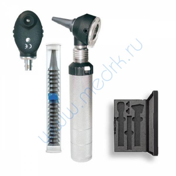 Набор диагностический KaWe Комбилайт FO30/E36 (офтальмоскоп 6 апертур, диафаноскоп и отоскоп ФО с принадлежностями)