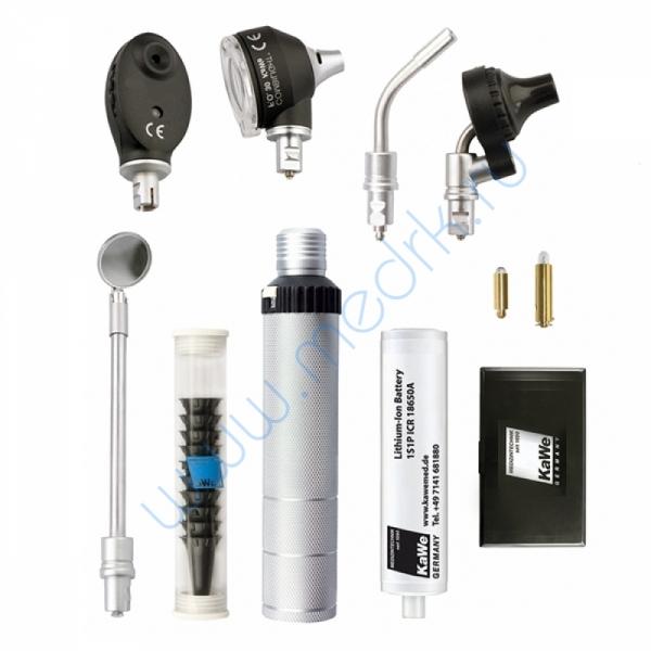 Набор диагностический KaWe Комбилайт FO30/E36 (офтальмоскоп 6 апертур, диафаноскоп и отоскоп ФО с принадлежностями)  Вид 2
