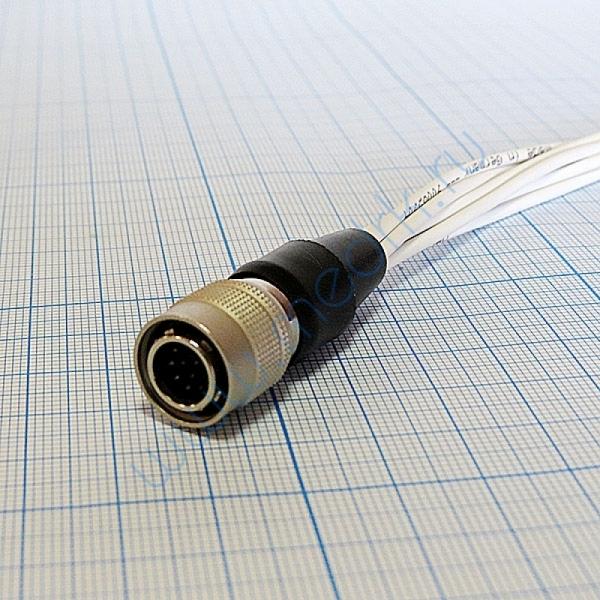 Кабель для подключения одноразовых электродов на 3 отв. 7 электродов для КТ-04-8, КТ-04АД-3(М) (12 pin)  Вид 4