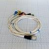 Кабель для подключения одноразовых электродов на 3 отв. 7 электродов для КТ-04-8, КТ-04АД-3(М) (12 pin)