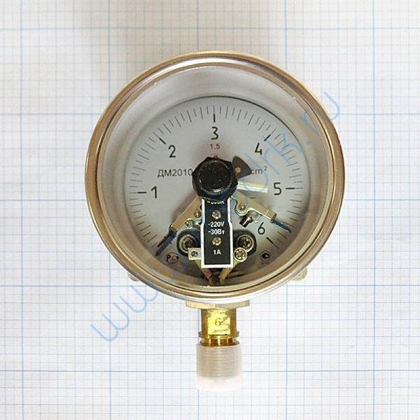 Манометр сигнализирующий ДМ2010ф СгуЗ (0-6) кгс/см2  Вид 3