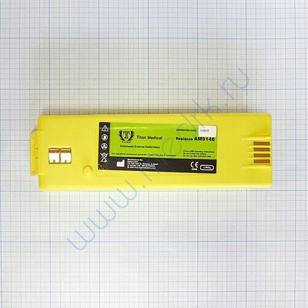 Батарея аккумуляторная AMCO 9146 для дефибрилляторов Powerheart AED G3 (12В, 7500mAч)  Вид 8