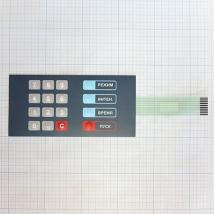 Клавиатура для аппарата ультразвуковой терапии УЗТ 1,07ф 1992 года