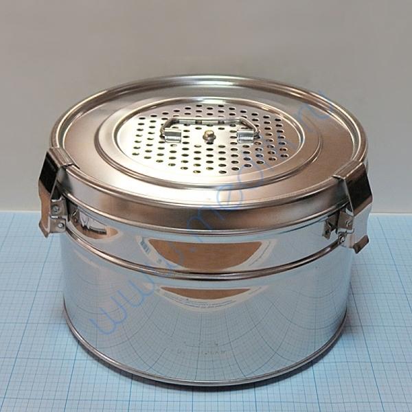 Коробка стерилизационная КСКФ-9 с фильтрами