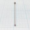Зонд логопедический шариковый (диаметр 10 мм и 6 мм)