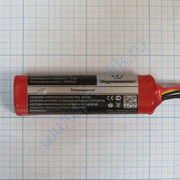 Батарея аккумуляторная 8H-AA2000 для ЭКГ Fukuda FX7202, FX-4010, FX-2201, c разъемом (МРК)  Вид 3