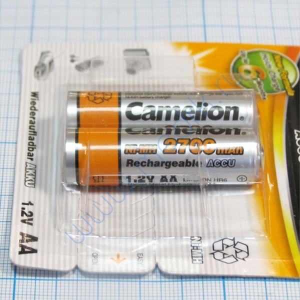 Аккумулятор CAMELION NI-MH R6 2700 mAh BP-2 (2 шт.)   Вид 3